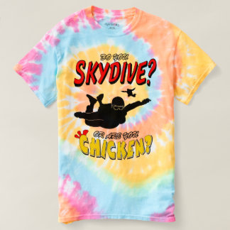 Skydive or Chicken? (blk) T-shirt
