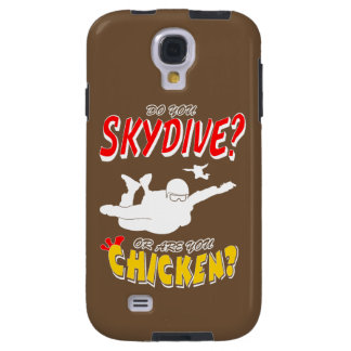 Skydive or Chicken? (wht)