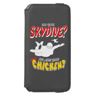 Skydive or Chicken? (wht) Incipio Watson™ iPhone 6 Wallet Case