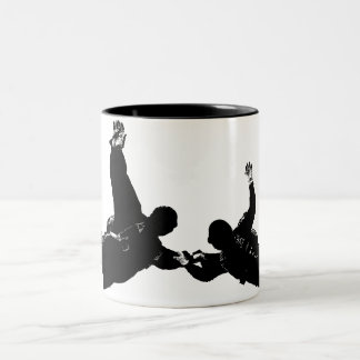 SKYDIVER Two-Tone COFFEE MUG