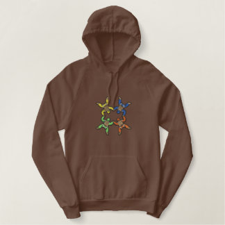Skydivers Embroidered Hoodies