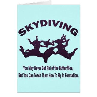 SKYDIVING CARD