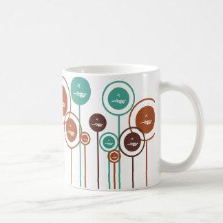 Skydiving Daisies Coffee Mug