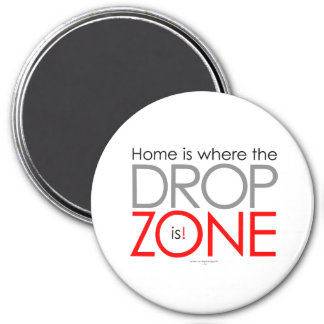 Skydiving Drop Zone Magnet