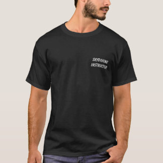 Skydiving Instructor - Parachute Staff T-Shirt