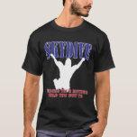 Skydiving Shirt Silhouette (Dark)
