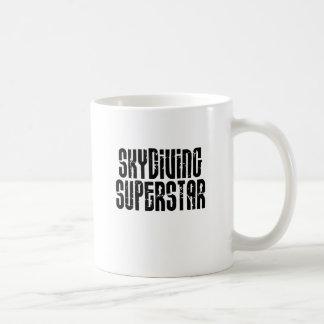 Skydiving Superstar Coffee Mug