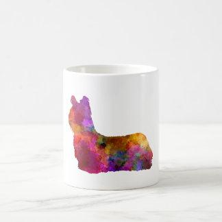 Skye Terrier 01 in watercolor Coffee Mug
