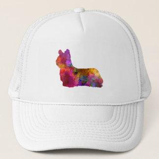 Skye Terrier 01 in watercolor Trucker Hat