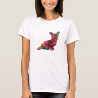 Skye Terrier 02 in watercolor T-Shirt