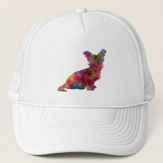 Skye Terrier 02 in watercolor Trucker Hat