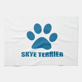 SKYE TERRIER DOG DESIGNS KITCHEN TOWEL