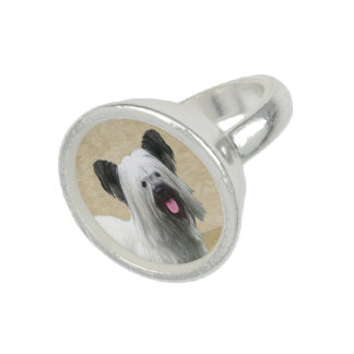 Skye Terrier Photo Ring