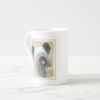 Skye Terrier Tea Cup