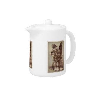 Skye Terrier Teapot