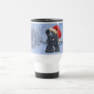 Skye Terrier Wintertime Travel Mug