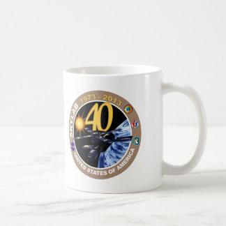 SKYLAB:  40th Anniversary Logo! Mugs