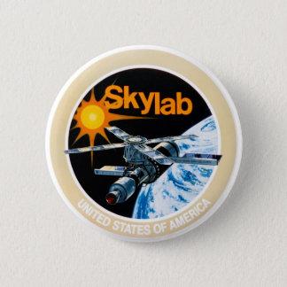 Skylab mission patch button
