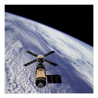 Skylab Poster