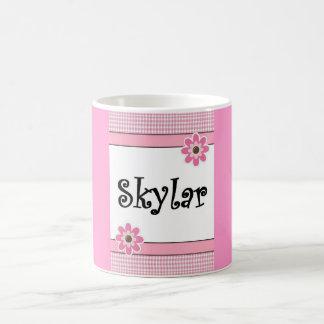 Skylar Plaid/Floral Mug