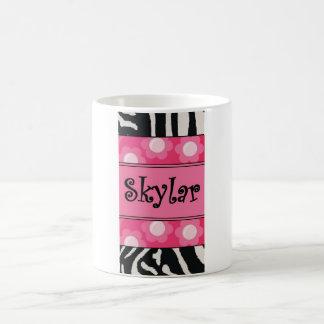 Skylar Zebra Mug