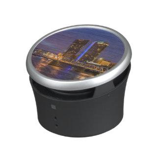 Skyline At Dusk, On The Grand River Bluetooth Speaker