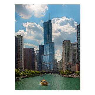 Skyline Chicago Postcard