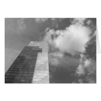 Skyline & Clouds - Noir, card