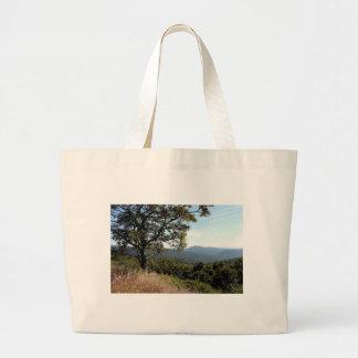 Skyline Drive Mountain View Jumbo Tote Bag