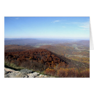 Skyline Drive Notecard