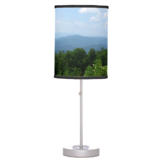 Skyline Drive Scenic View Table Lamp
