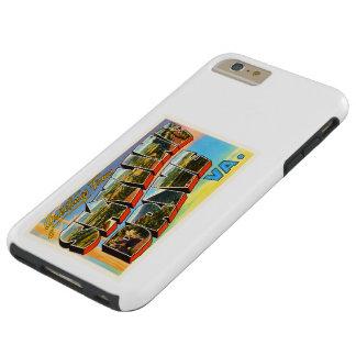 Skyline Drive Virginia VA Vintage Travel Postcard- Tough iPhone 6 Plus Case