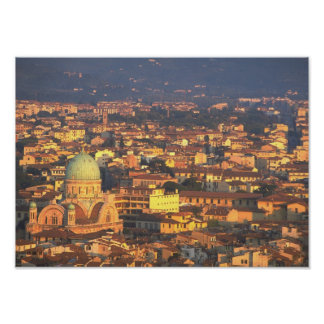 Skyline Florence Italy Poster