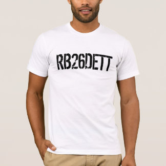 Skyline GT-R RB26DETT Engine Code T-Shirt