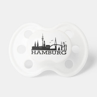 Skyline Hamburg Pacifier