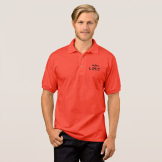 Skyline Limit Men's Red Polo Shirt