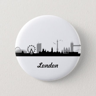 Skyline London 2 Inch Round Button