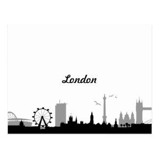 Skyline London Postcard
