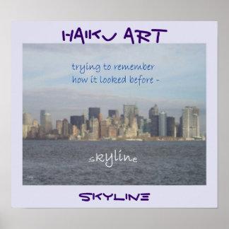 Skyline Memoriam Art Print