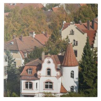 Skyline of Bamberg, Germany 2 Tiles