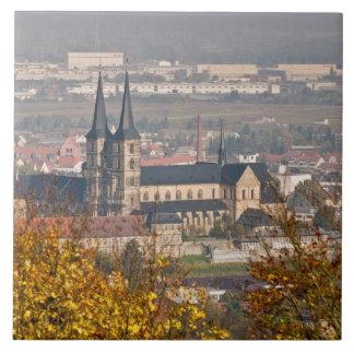 Skyline of Bamberg, Germany Ceramic Tiles