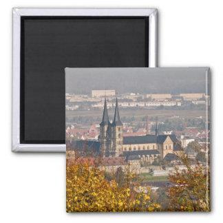 Skyline of Bamberg, Germany Magnet