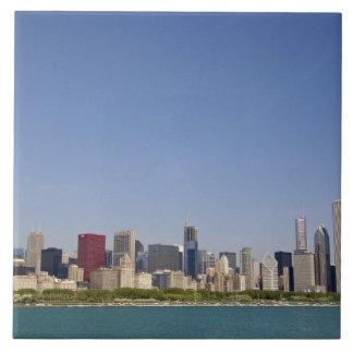 Skyline of Chicago, Illinois, USA. Ceramic Tiles