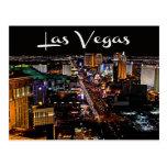 Skyline of Las Vegas, Nevada Casino Postcard