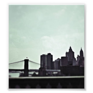 Skyline of New York Photo Print