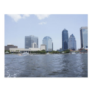 Skyline on the Water Postcard
