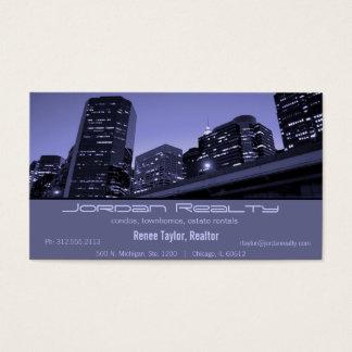 skyline real estate business card