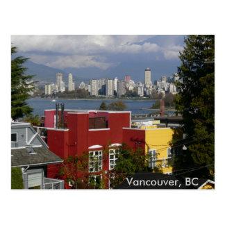 Skyline, Vancouver, BC Postcard