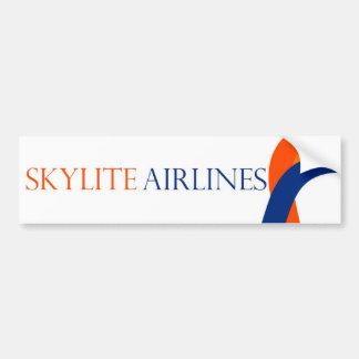 Skylite Airlines Bumper Sticker - Design 1