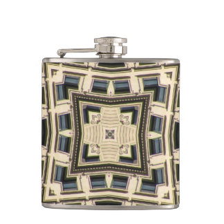 Skyscraper 1 hip flask